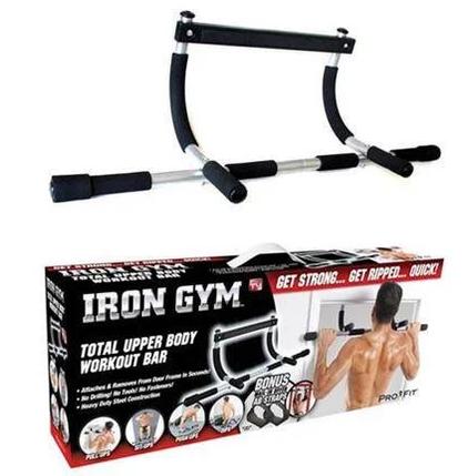 Турник в дверной проем Iron Gym, фото 2