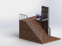 Лифты с открытой платформой МК 901 Poltime