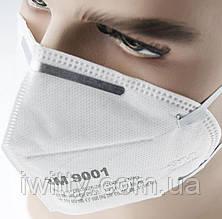 Маска медицинская для лица Спецмедпошив 3M 9001 (100 МАСОК), фото 3