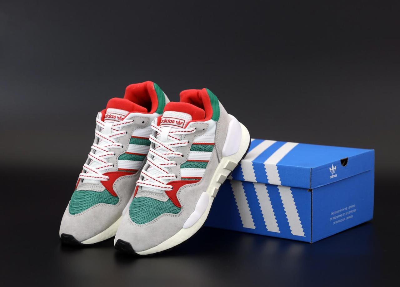 Мужские кроссовки Adidas EQT серого цвета