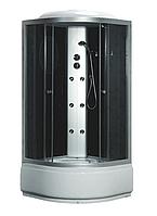 Гидробокс Fabio 100х100х40 тонированное стекло, глубокий поддон, TMS-885/40