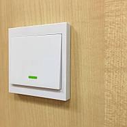 Прохідний бездротовий вимикач INTED 220В одноклавішний, фото 4