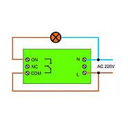 Прохідний бездротовий вимикач INTED 220В одноклавішний, фото 5