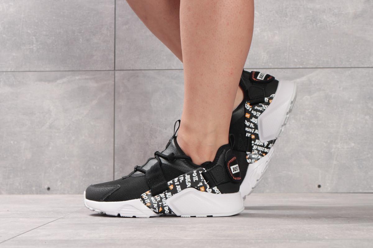 Кроссовки женские 16382 ► Nike Air Huarache City Low, черные. [Размеры в наличии: 36,37]