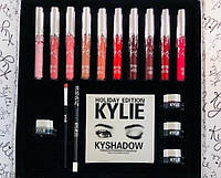 Набор подарочный Кайли Серебро | Подарочный набор декоративной косметики Kylie