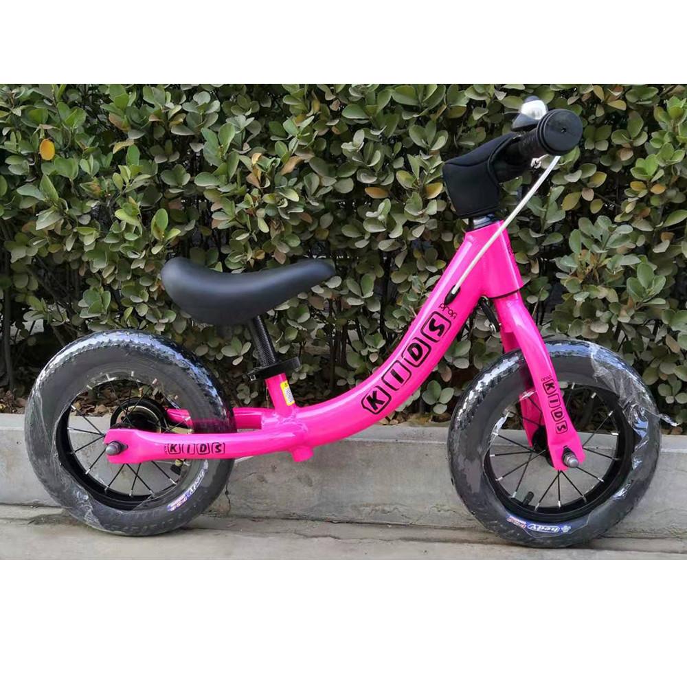 Беговел детский PROFI KIDS W1202-2 12 дюймов розовый **