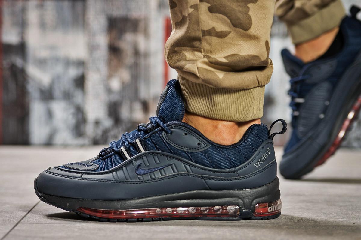 Кроссовки мужские 12672 ► Nike Aimax Supreme, темно-синие. [Размеры в наличии: ]