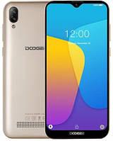 """Смартфон Doogee X90 1/16GB Gold, 8+5/5Мп, 4 ядер, MT6580A, 2sim, 6,1"""" LTPS, 3400mAh, GPS, 3G"""