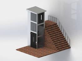 Закрытые вертикальные лифты/платформы KP 901 Poltime