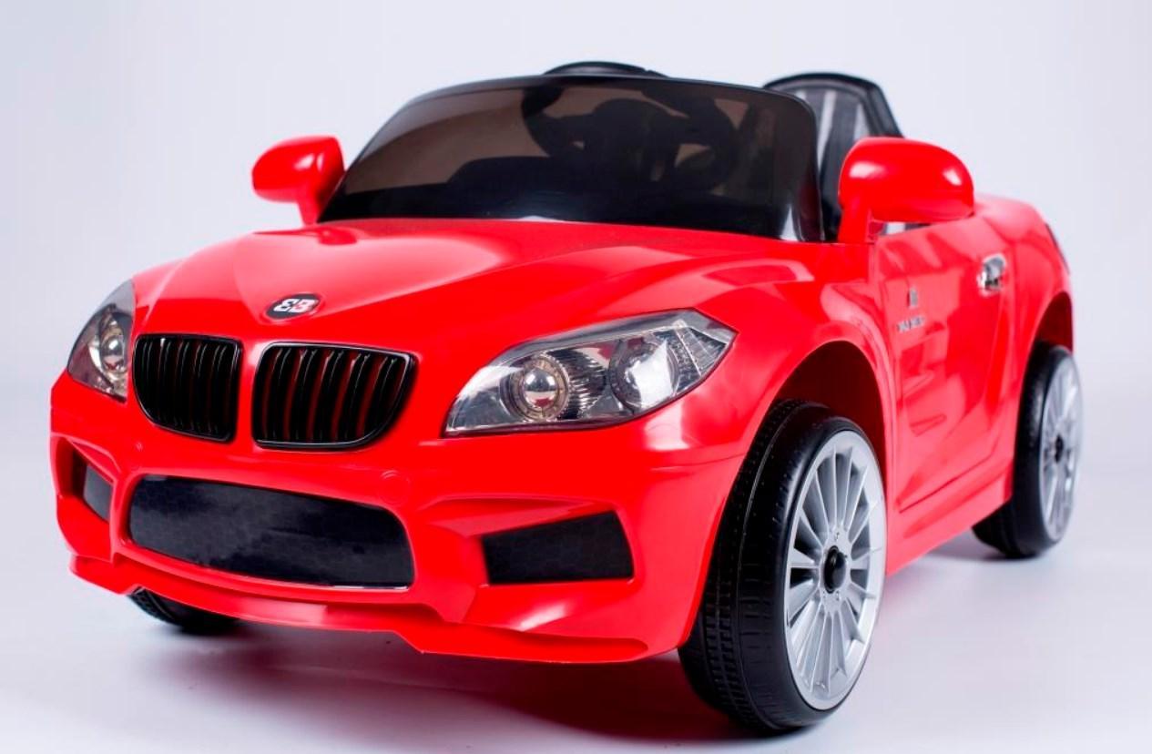 Детский электромобиль T-764 EVA BMW RED легковая на Bluetooth 2.4G