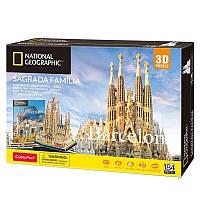Трехмерная головоломка-конструктор CubicFun National Geographic Храм Святого Семейства (DS0984h)