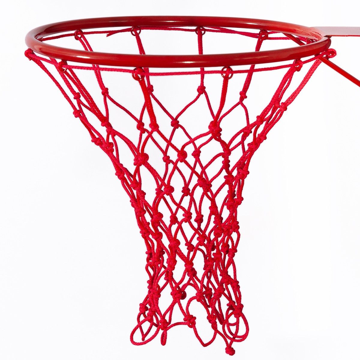 Сетка баскетбольная «СТАНДАРТ», шнур диаметром 4,5 мм. (стандартная) красная для Республики Беларусь