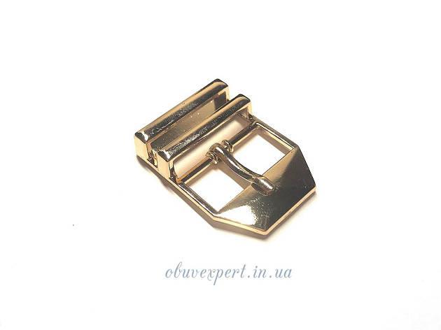 Пряжка 20 мм Золото, фото 2