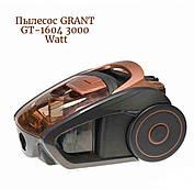 Пылесос GRANT GT-1604 3000W, контейнер 2,5 литра, пылесос циклон Грант без мешка Колбовые Пылесосы