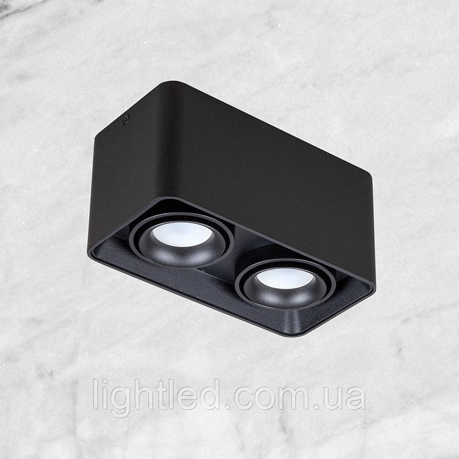 Чёрный светильник с направлением света