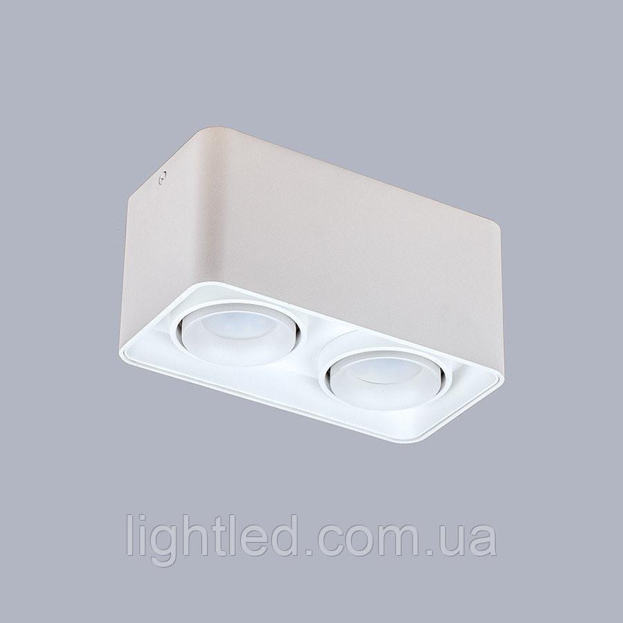 Белый светильник с направлением света