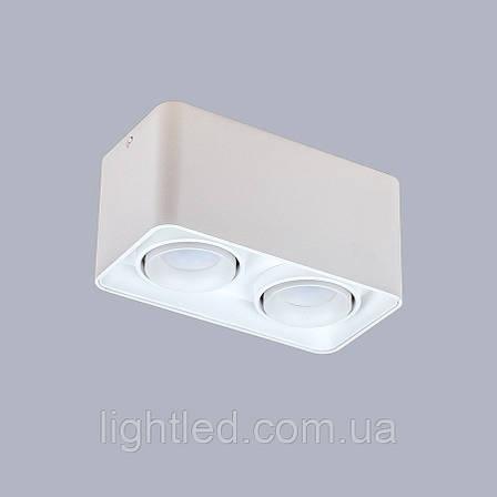 Белый светильник с направлением света, фото 2