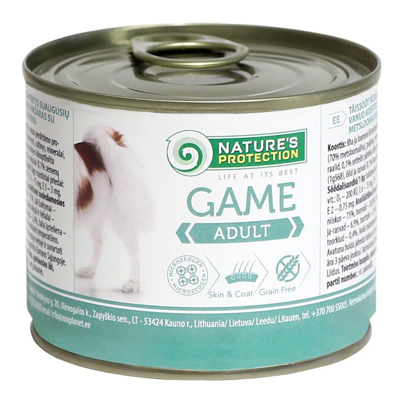 Консерва для собак ADULT GAME 200 г