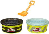 Play-Doh Игровой набор с пластилином Цемент и Асфальт, E4525