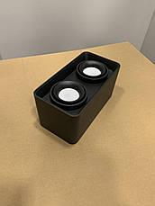 Чёрный светильник с направлением света, фото 3