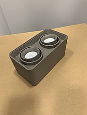Серый светильник с направлением света, фото 3