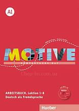 Тетрадь Motive A1 Arbeitsbuch mit MP3-CD Lektion 1-8 / Hueber