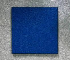 Резиновая плитка Стандарт 20 мм синяя