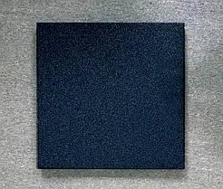 Резиновая плитка Стандарт 20 мм черная