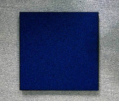 Резиновая плитка Стандарт 20 мм темно-синяя