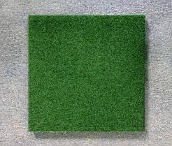 Резиновая плитка Стандарт 20 мм темно-зеленая