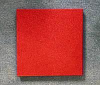 Резиновая плитка Стандарт 40 мм красная
