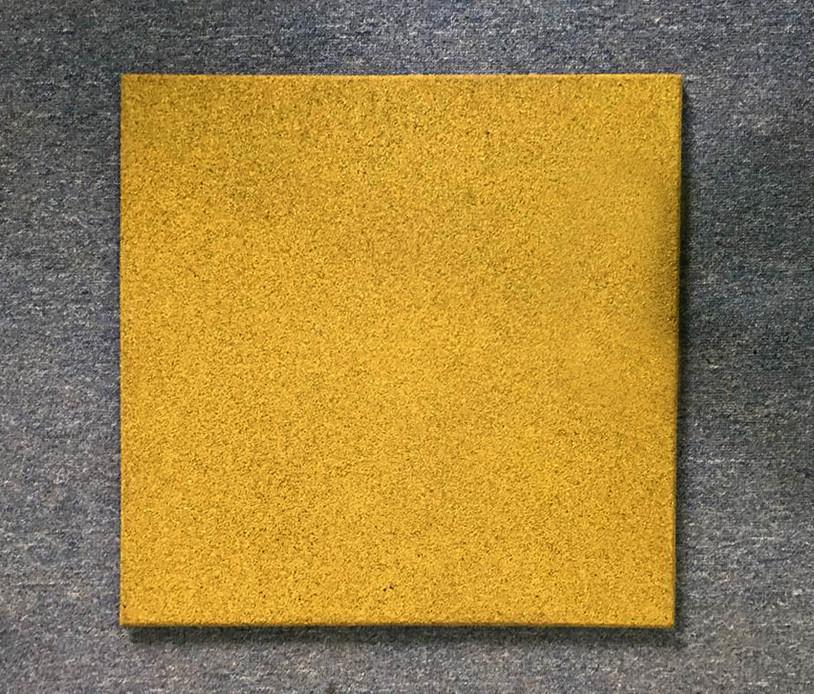 Резиновая плитка Стандарт 50 мм желтая