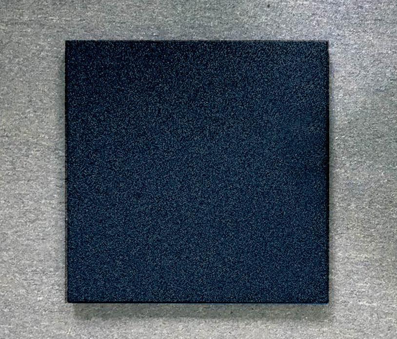 Резиновая плитка Стандарт 50 мм черная