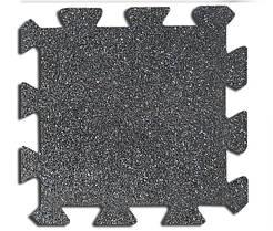 Резиновая плитка Galaxy Puzzle 30 мм серая