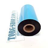 Риббон WAX Красящая лента для печати на этикетке полуглянцевой, фото 2