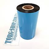 Риббон WAX Красящая лента для печати на этикетке полуглянцевой, фото 3