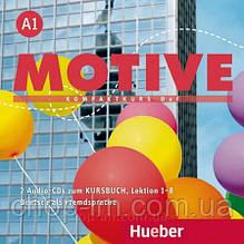 Аудио диск Motive A1 Audio-CDs zum Kursbuch Lektion 1-8 / Hueber