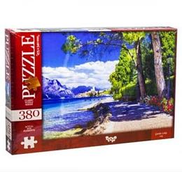 Пазли 380 елементів.Пазли Озеро Гарда,Італія, 380 елементів Dankotoys