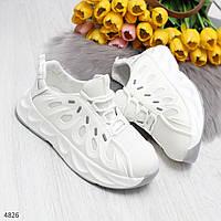 Дизайнерские белые модные повседневные кроссовки