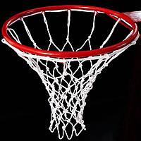 Сетка баскетбольная «СТАНДАРТ», шнур диаметром 4,5 мм. (стандартная) белая для Республики Молдова