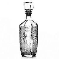 """Графин 500 мл стеклянный для алкогольных напитков """"Барский"""" Everglass"""