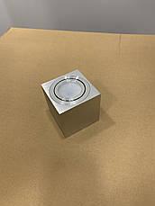 """Серый светильник """"Куб"""" с направлением света, фото 3"""