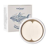 Trimay Shark's Fin Collagen Anti-Wrinkle Eye Patch Антивозрастные гидрогелевые патчи для век с коллагеном