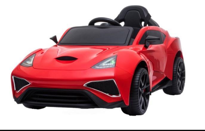 Детский электромобиль T-7647 EVA red, мягкие колеса, красный