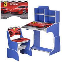 Детская парта-трансформер Ferrari со стульчиком W 2071-63-6