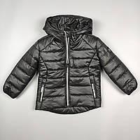 Куртка для хлопчика 2-6 років Чорний, фото 1