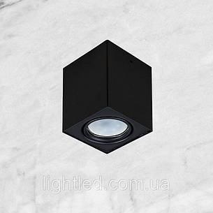 """Чёрный светильник """"Куб"""" с направлением света, фото 2"""