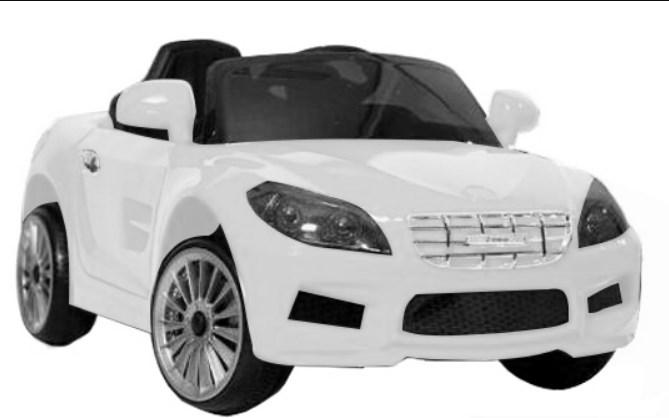 Детский электромобиль T-7648 EVA WHITE, Audi, белый