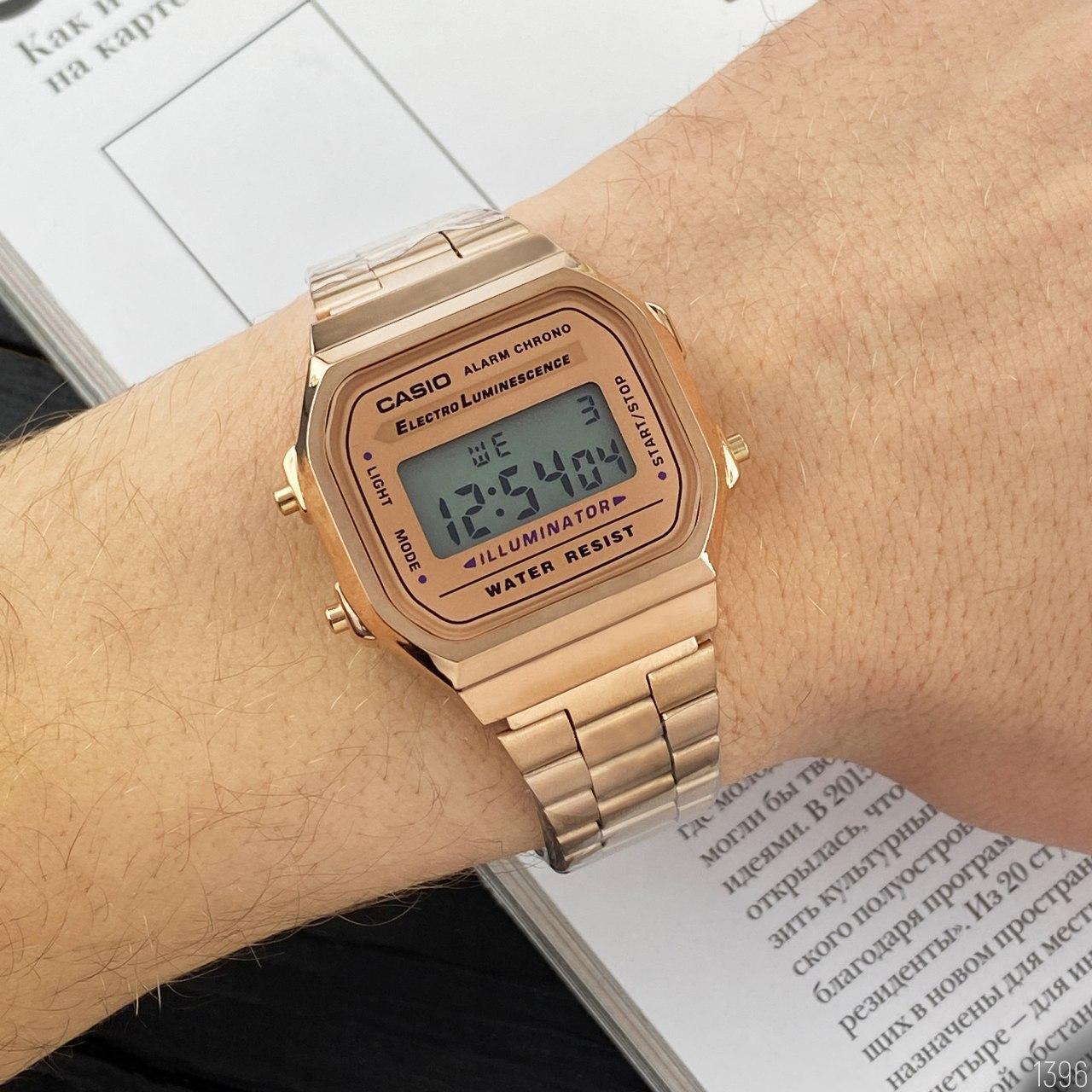 Мужские электронные наручные часы Casio Illuminator Cuprum