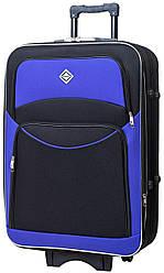 Чемодан Bonro Style маленький черно-фиолетовый (10011904)